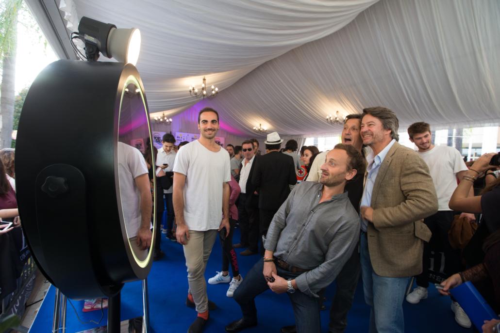 Selfie Mirror Festival Télé Beausoleil