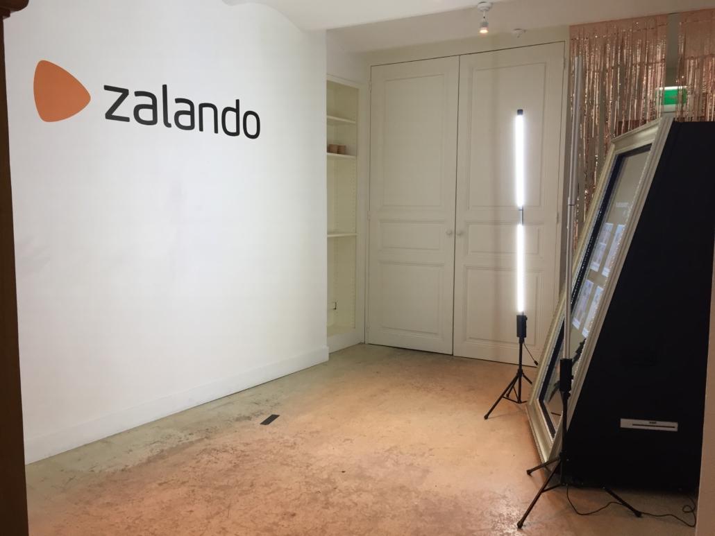 Animation SelfieMirror - Paris Zalando